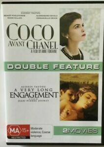 Coco Avant Chanel + A Very Long Engagement (DVD) 2 Disc - VGC