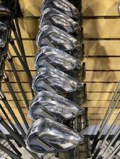 RH Callaway Mavrik MAX Irons 5-P,AW Steel Stiff