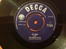 "The Moody Blues - Go Now! / It's Easy Child -  7"" Single Vinyl 45rpm 1964 Decca"