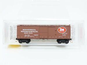 N Micro-Trains MTL 39190 MINX Minnesota Mining & Manufacturing 40' Boxcar #1040