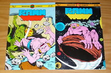 Ramm #1-2 VF complete series - pre-dates megaton explosion - youngblood liefeld