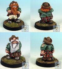 2011 Scotling Flash & Scratch Fantasy Football Dwarf Gnome Imp Scotlings Team