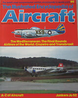 The Illustrated Encyclopedia of Aircraft Issue 99 Junkers JU 52 cutaway drawing