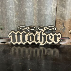MOTHER ENERGY DRINK Cast Iron Drink Display Sign Coke