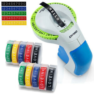 Dymo Omega Embossing Home Label Maker OR Compatible 3D Embossing Label Tape 9mm