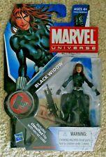 "MARVEL UNIVERSE SERIES 2 BLACK WIDOW 3.75"" FIGURE 011"