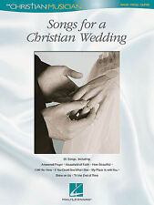 Songs for a Christian Wedding (Piano/Vocal/Guitar) Songbook