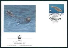 TÜRKMENISTAN FDC FAUNA ROBBE CASPIAN SEAL KASPI-RINGELROBBE PHOCA PHOQUE dz08