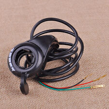 3 Wires Thumb Throttle Speed Control Fit For 7/8'' Electric Bike Scooter E-Bike