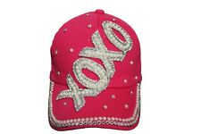 XOXO Pink Bejeweled HAT CAP ..For Teens, Ladies..  New