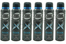 6 x RIGHT GUARD XTREME COOL 72hr PROTECTION ANTI-PERSPIRANT SPRAY 150ml 201939
