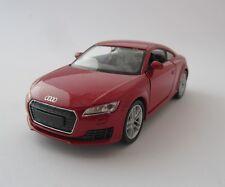 Welly Audi TT  / Rot / Rückzugmotor / Druckgussmodel / Audi / 1:39 / OVP / Neu