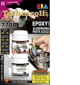 Technicqll Aluminium Cold Weld Metal Bearing Bolts Epoxy Repair Glue Paste  E020
