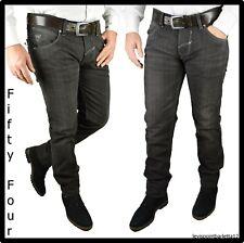 pantaloni a quadri da uomo slim fit jeans invernali scozzesi eleganti 42 44 w30