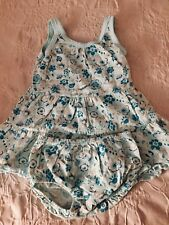 Janie and Jack Cotton Knit Baby Girl Dress 3-6 Months
