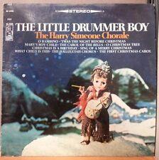 "HARRY SIMEONE CHORALE ""LITTLE DRUMMER BOY"" CHRISTMAS RECORD - KAPP KS-3450"