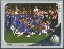 PANINI UEFA CHAMPIONS LEAGUE 2012-13- #007-CHELSEA TEAM CELEBRATES