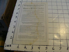 Vintage paper: 1896 ad sheet for DIAGRAM OF COMPOUND NUMBERS stained