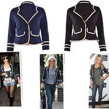 Women's Formal Polyester Button Waist Length Coats & Jackets