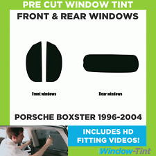 Pre Cut Window Tint - Porsche Boxster 1996-2004 - Full Kit