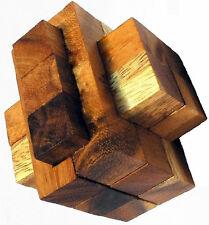 Notorious Block - Wood Puzzle Brain Teaser NEW Mind Bender Rompecabeza Noggin
