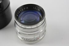 JUPITER 3 1,5/50mm Russian lens (Fed, Zorki, Leica) M39