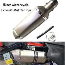 51MM Motorcycle Dirt Bike Exhaust Muffler Pipe For Honda CBR250R 2011-2013 ABS