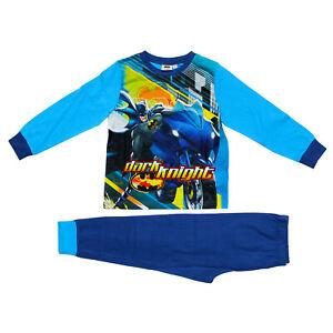 Licensed Boys DC Comics BATMAN Pyjamas PJS Age 5-6 Years Nightwear Dark Knight