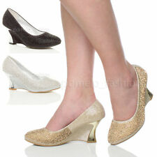 Wedge Synthetic Upper Material Court Shoes for Women