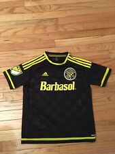 Columbus Crew MLS Adidas Climacool Youth Soccer Jersey Size L (13-14)