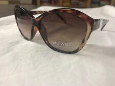 NEW Nine West Womens brown Tortoise Sunglasses  02