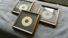 "Hardwood Walnut Plate Frame / Shadowbox W/ Glass Exclusive Design 12X12"""