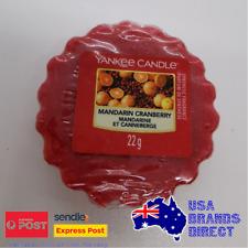 Yankee Candle - Single Wax Fragrance Melt Tart - Mandarin Cranberry