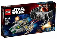 LEGO STAR WARS 75150 TIE ADVANCED VADER CONTRO CAZA ESTELAR ALA-Y NUEVO NEW