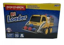 ROKENBOK SYSTEM RC Loader Truck  Yellow Radio Control 04217 New Sealed