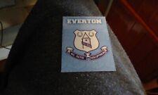1997 Merlin Premier Gold Embossed Team Badge E07 Everton