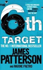 James Patterson-The 6th Target/12th of Never (2x Paperbacks)