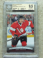 11-12 UD Rookie Canvas POE Programme Of Excellence MARK SCHEIFELE Grade BGS 9.5