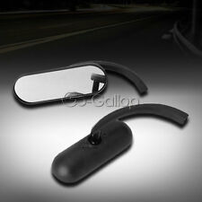 Oval Rearview Mirrors Fit Harley Dyna Sportster Softail Touring Cruiser Chopper