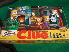 THE SIMPSONS clue detective family game night kids  ROUGH BOX
