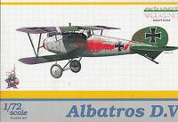 Albatros D V - Deutscher Jäger 1. Weltkrieg - 1:72 Eduard Plastikbausatz OVP