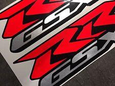 ADESIVI-SET 2-tlg., SUZUKI GSX-RR GSXR 600 750 1000 anno 2001-16 Nuovo MotoGP R/R