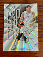 2018-19 Panini Prizm Silver Laser #P1 LUKA DONCIC ROOKIE Basketball Card #'d/49