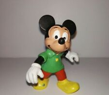 Figure of Mickey Mouse in PVC green T-shirt 2