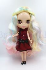 Blythe Doll from factory Nude apricot part curly hair SD181 Transparent skin