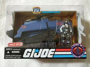 GI Joe 2008 25th Anniversary Target Exclusive Cobra H.I.S.S. Tank w/ Driver nisb