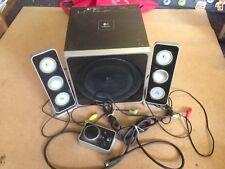 Logitech Z4 2.1 Computer Speaker System With Subwoofer, Tested,Trusted Ebay Shop