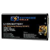 Extremecells Akku für Samsung Galaxy S5 SM-G900F Batterie EB-BG900 mit NFC