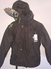 NWT WMN'S SALOMON EXPOSURE SKI SNOWBOARD JACKET ABSOLUTE BROWN SZ SM RET $270