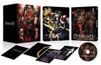 DHL) Overlord Over Lord Vol.1 LIMITED EDITION Blu-ray Novel+Card+Box JAPAN Anime